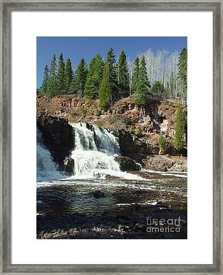 Goosberry Falls Framed Print