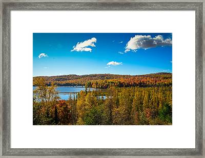 Goose Lake Framed Print
