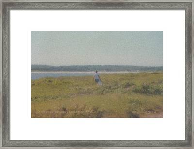 Gooseberry Island Westport Ma Framed Print