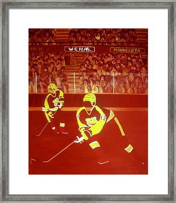 Gophers Framed Print by Ken Yackel