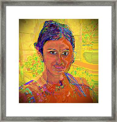 Gopika Framed Print by Noredin Morgan