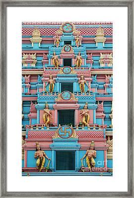 Gopuram Framed Print