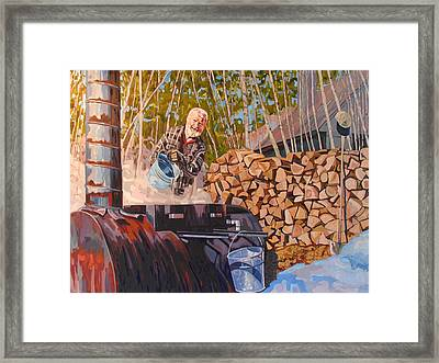 Gordon Framed Print by Phil Chadwick