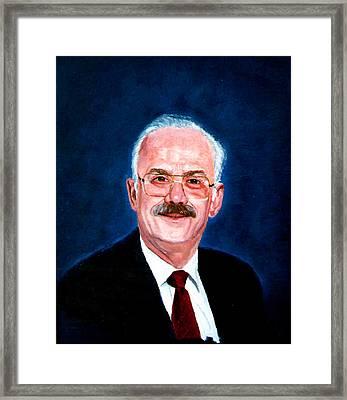Gordon Framed Print by Stan Hamilton