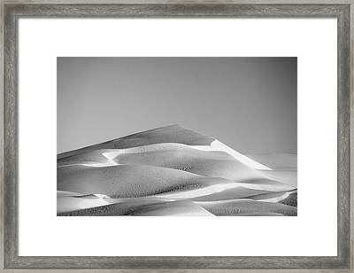 Gordon Wells Dunes Framed Print by Peter Tellone