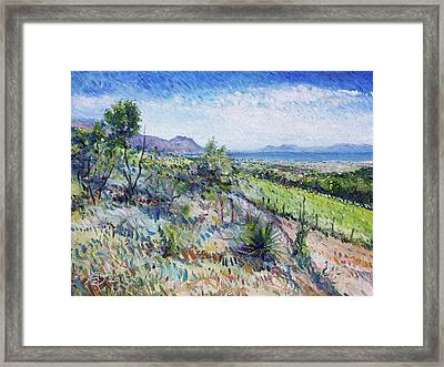 Gordons Bay Western Cape South Africa Framed Print