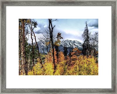 Gore Range Framed Print by Jim Hill