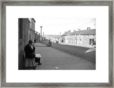 Gorey County Wexford 1957 Framed Print