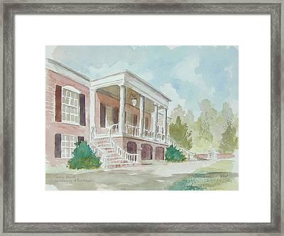 Gorgas House Framed Print