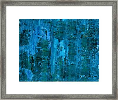 Gorge Framed Print by Ethel Vrana