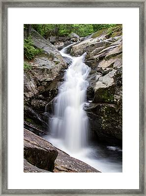 Gorge Waterfall Framed Print