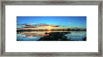 Gorgeous Evening Framed Print by Robert Bales