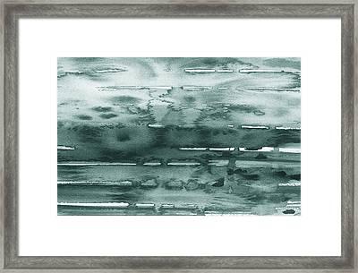 Gorgeous Grays Abstract Interior Decor X Framed Print by Irina Sztukowski