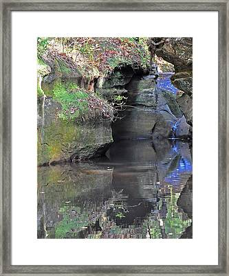 Gorgeous Reflections Vertical Framed Print by Peter  McIntosh