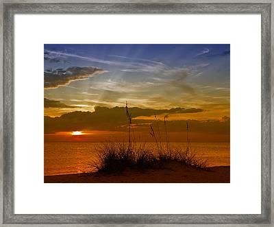 Gorgeous Sunset Framed Print
