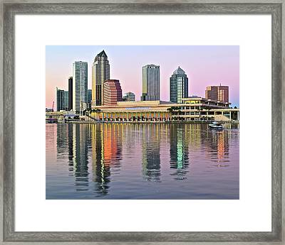 Gorgeous Tampa Bay Framed Print