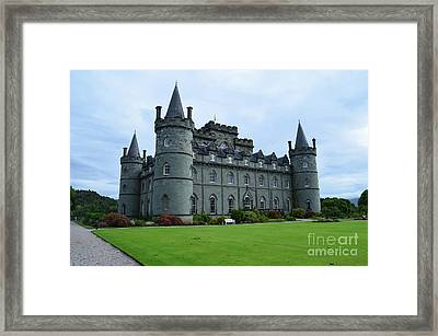 Gorgeous View Of Inveraray Castle Framed Print