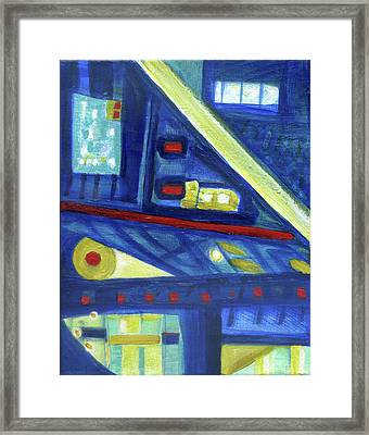 Gorias In The East Framed Print by Stephen Lucas