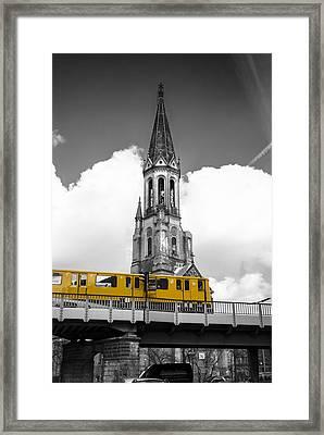 Gorlitz Popped Framed Print by Nathan Wright