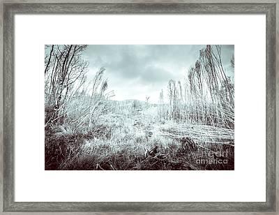 Gormanston Snowscape Framed Print by Jorgo Photography - Wall Art Gallery