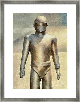 Gort From The Day The Earth Stood Still Framed Print