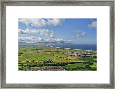 Gortmore Viewpoint, Northern Ireland. Framed Print