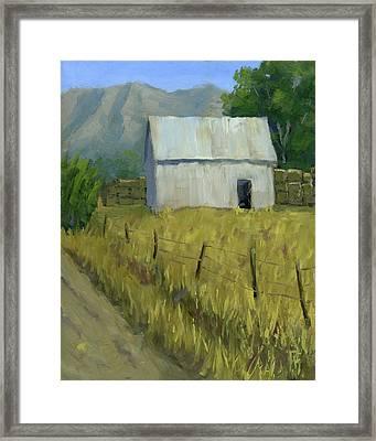 Goshen Ranch Framed Print by David King