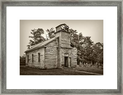 Gospel Center Church Iv Framed Print