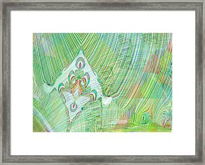 Gossamer Garden Framed Print by Mathilde Vhargon
