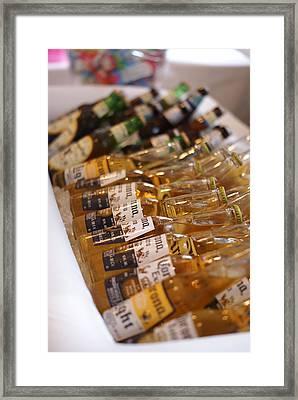 Got Beer Framed Print by Heidi Poulin