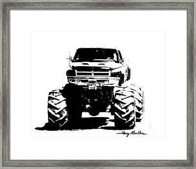 Got Mud? Framed Print