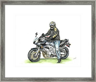 Got To Ride Framed Print