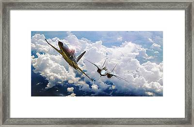 Gotcha Framed Print by Dorian Dogaru
