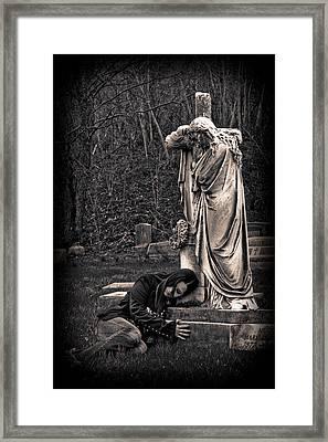 Goth At Heart - 3 Of 4 Framed Print by Scott  Wyatt