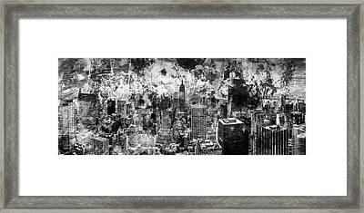 Gotham Castles Framed Print