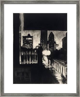 Gotham II Framed Print