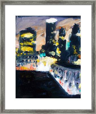 Gotham Framed Print by Robert Reeves