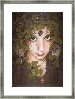 Gothberry Framed Print by Yuri Leitch