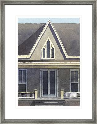 Gothic American, New Harmony, In Framed Print