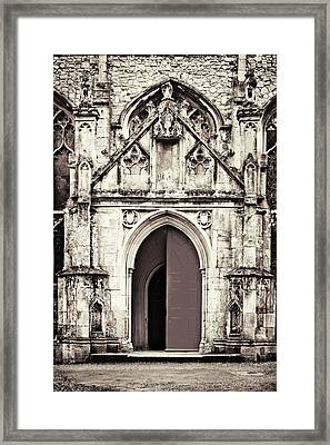 Gothic And Grungy Framed Print by Tom Gowanlock