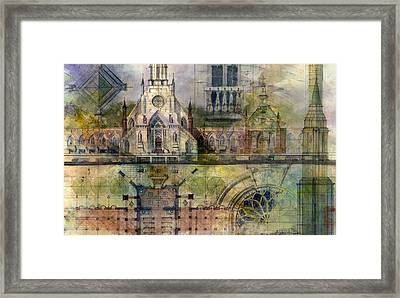 Gothic Framed Print by Andrew King