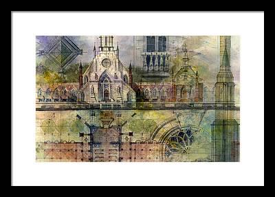 Gothic Framed Prints