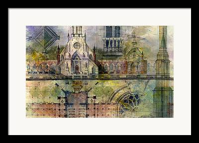 Church Architecture Framed Prints