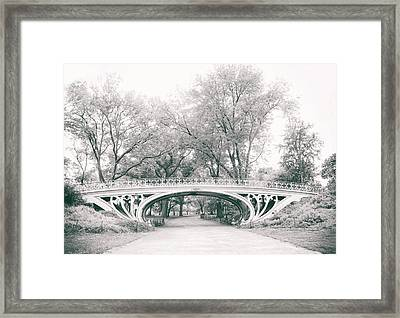 Gothic Bridge Nostalgia Framed Print by Jessica Jenney