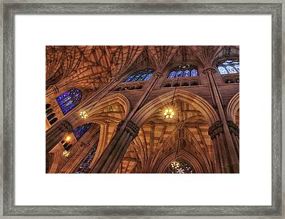 Gothic Ceiling Framed Print by Jessica Jenney