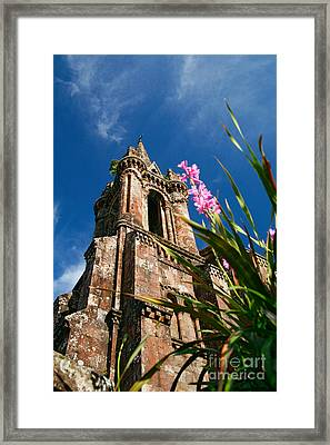 Gothic Chapel Framed Print by Gaspar Avila