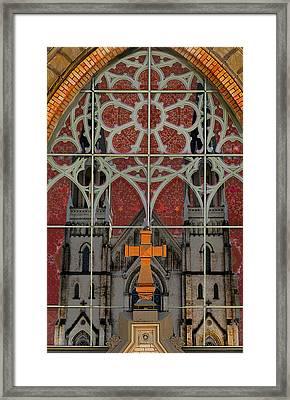 Gothic Church 2 Framed Print by Scott Hovind