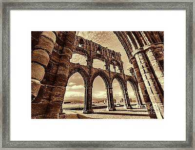 Framed Print featuring the photograph Gothic Dreams by Anthony Baatz