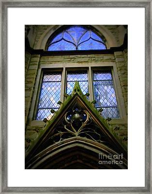 Gothic Entrance Framed Print