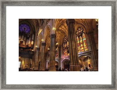 Gothic Glory Framed Print by Jessica Jenney